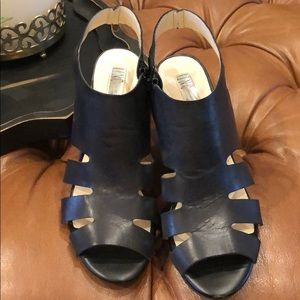 INC Black Heels